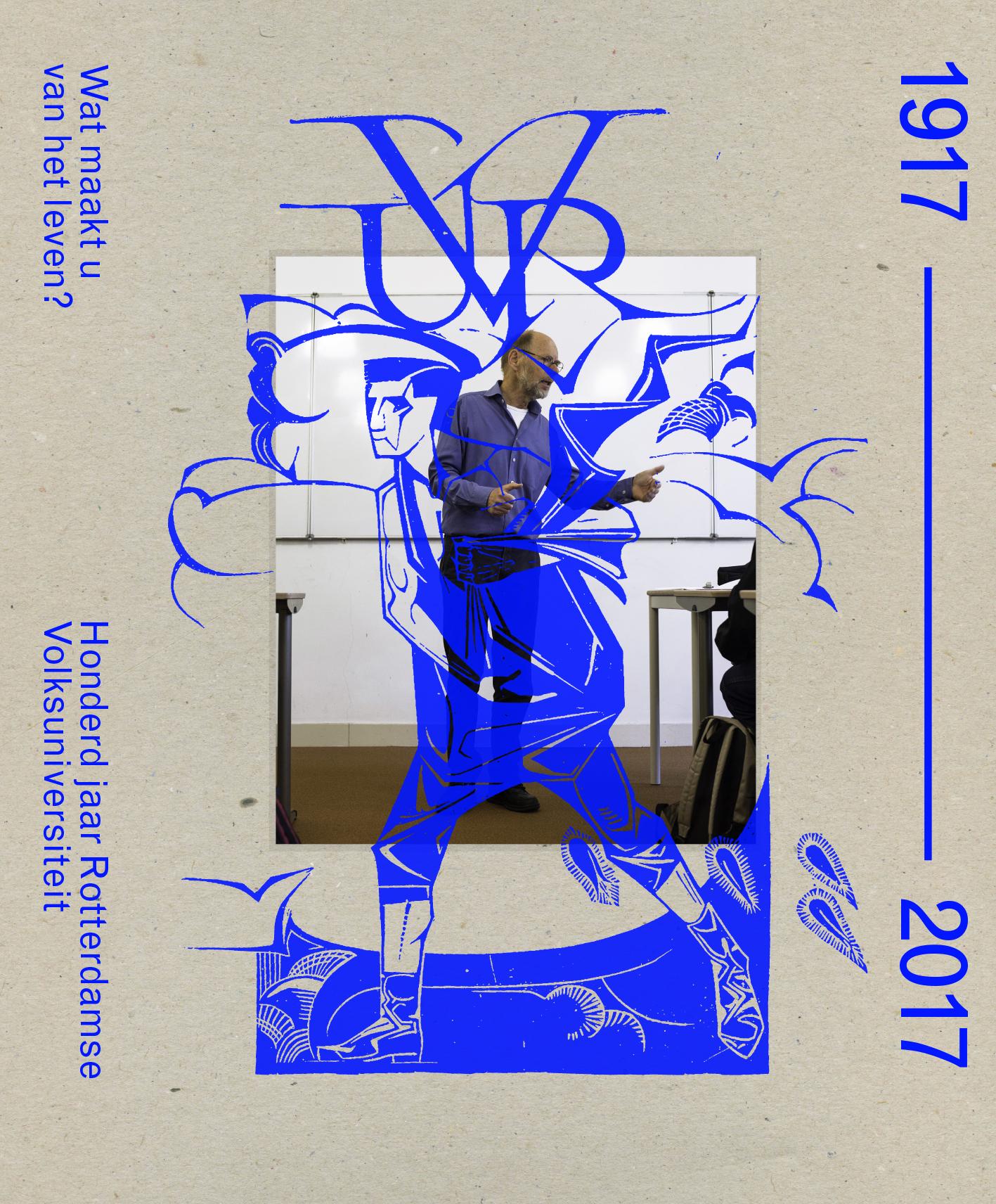 Uitgeverij Diafragma - volksuniversiteit, rotterdam, sanneke van Hassel, carel van hees, uitgeverij diafragma, Wat maakt u van het leven, Honderd jaar Rotterdamse Volksuniversiteit, leven lang leren